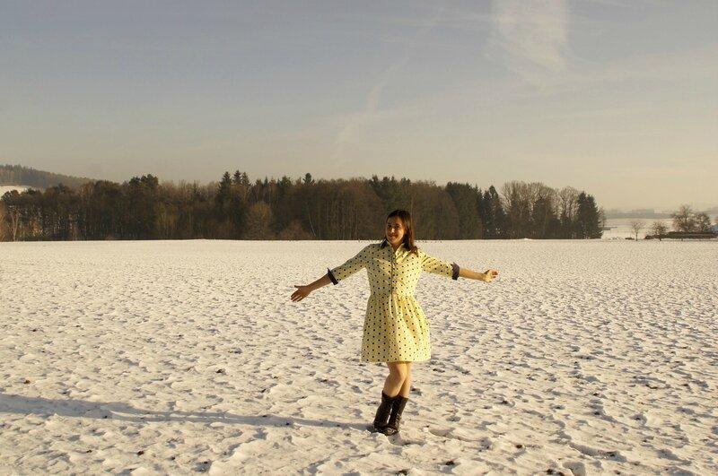 cami dans la neige 01