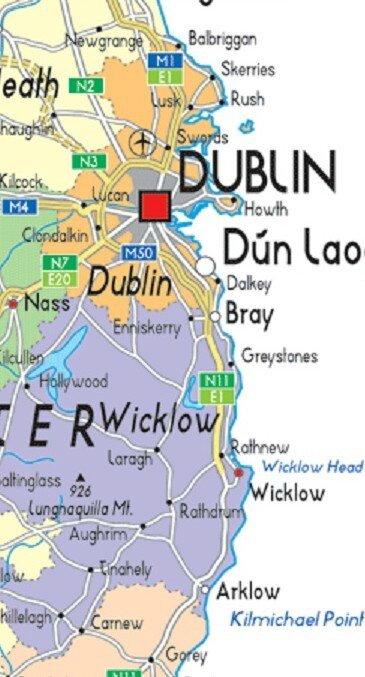 DUBLIN AND WICKLOW COUNTIES