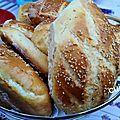 Petits pains sesame