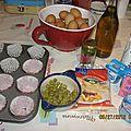 Cupcakes au thon de rachida