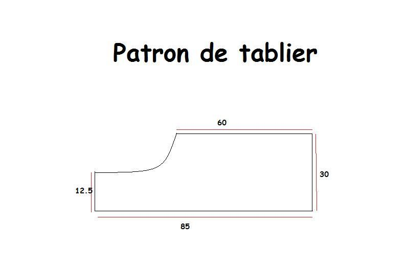 Mod le de tablier les truks de lelik for Patron tablier cuisine
