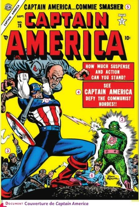 Image de support - Captain America
