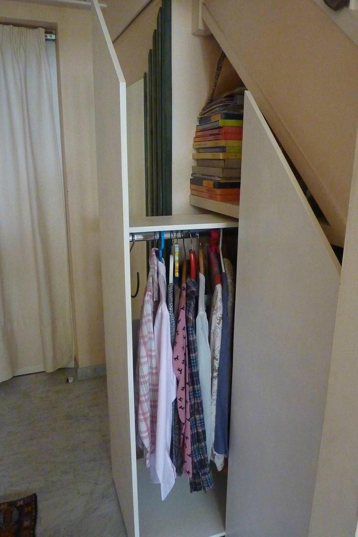 Placards sous escalier le blog de mirevan - Penderie sous escalier ikea ...