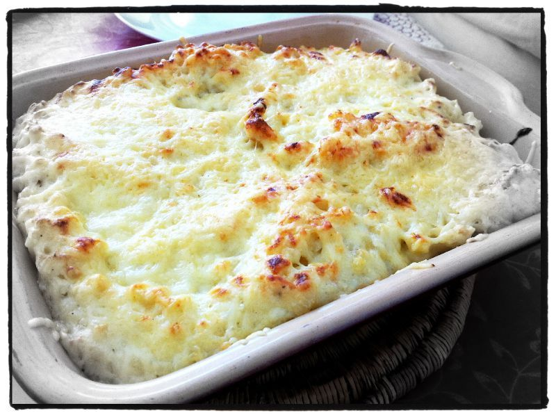 266 gratin de coquillett es au jambon mes recettes votre disposition. Black Bedroom Furniture Sets. Home Design Ideas