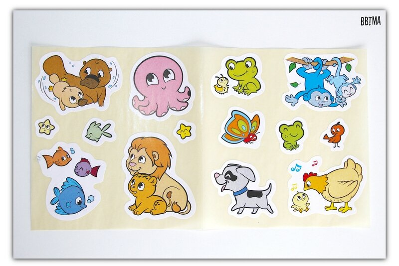 5 Crayola crayons gommettes enfants kids stickers animaux activité part à l'eau efface bbtma blog parents bébé loisirs créatif