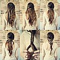 Quelques coiffure simples pour les soirées et les mariages de cet été ! ♥