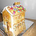 Une maison en biscuit