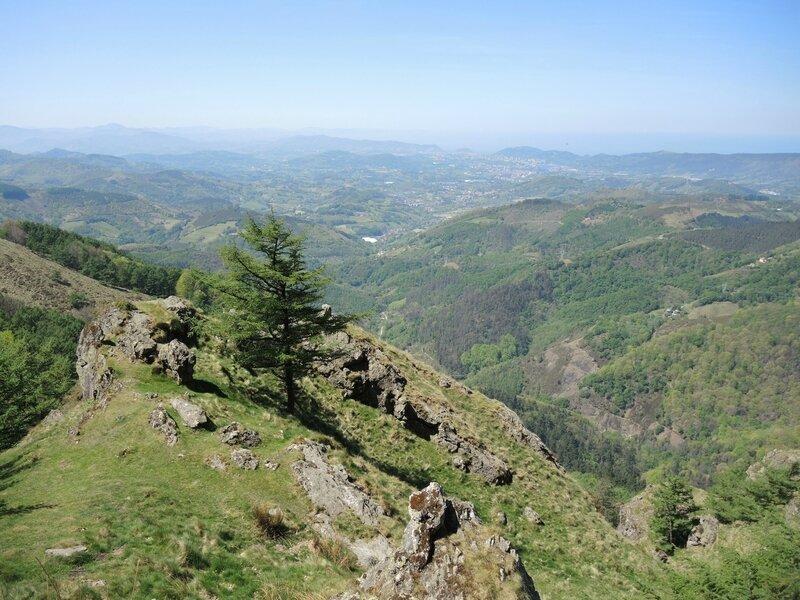 Les Trois Couronnes, montée vers Erroilbide, vue 1 (Espagne)