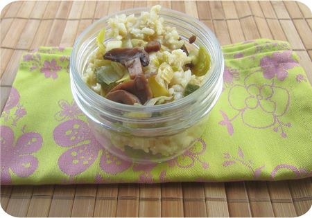risotto poireaux champignons (scrap2)