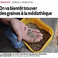 Échanges de plantes / de graines
