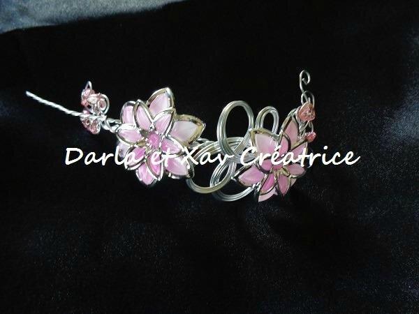 Bijoux de tête Pink'Retro
