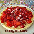 Cheesecake fraises & framboises