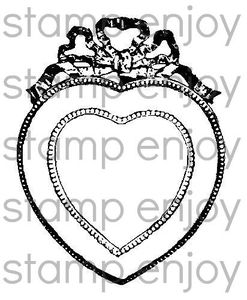 VT15 Cadre coeur ancien