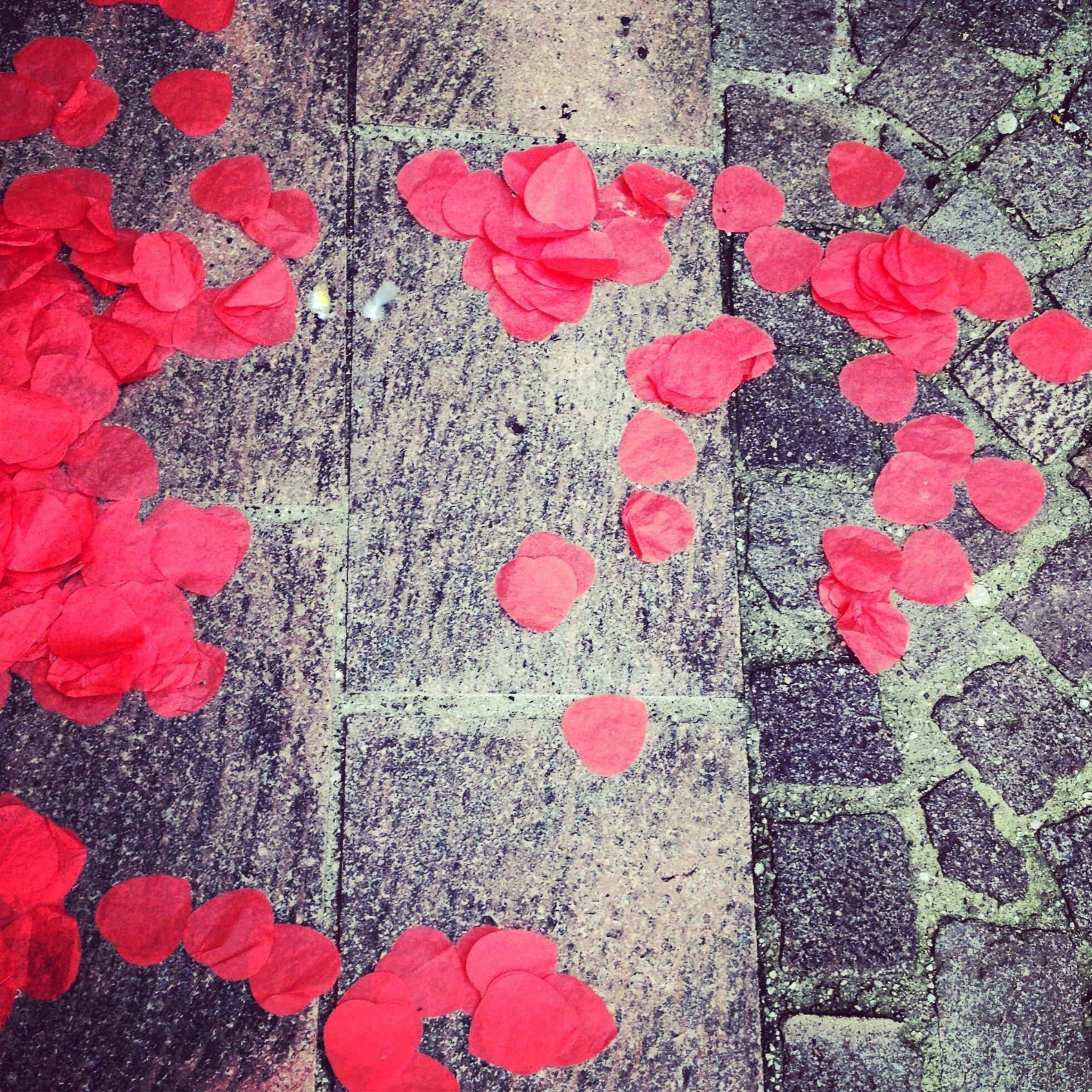 Celle qui aimait les Coeurs sur le sol
