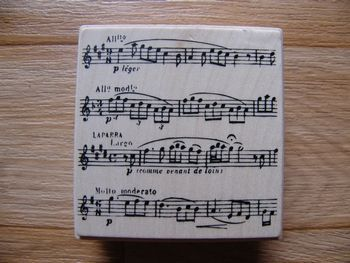 Tampon notes musique