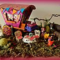 camp gitan miniature