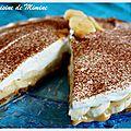 Banoffee pie... ou la tuerie anglo-saxonne (spéculoos, confiture de lait, banane, crème fouettée)