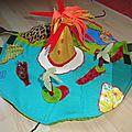 fold and go dinosaurs play mat diy, tapis de jeux de voyage foldingo dinosaures (5)