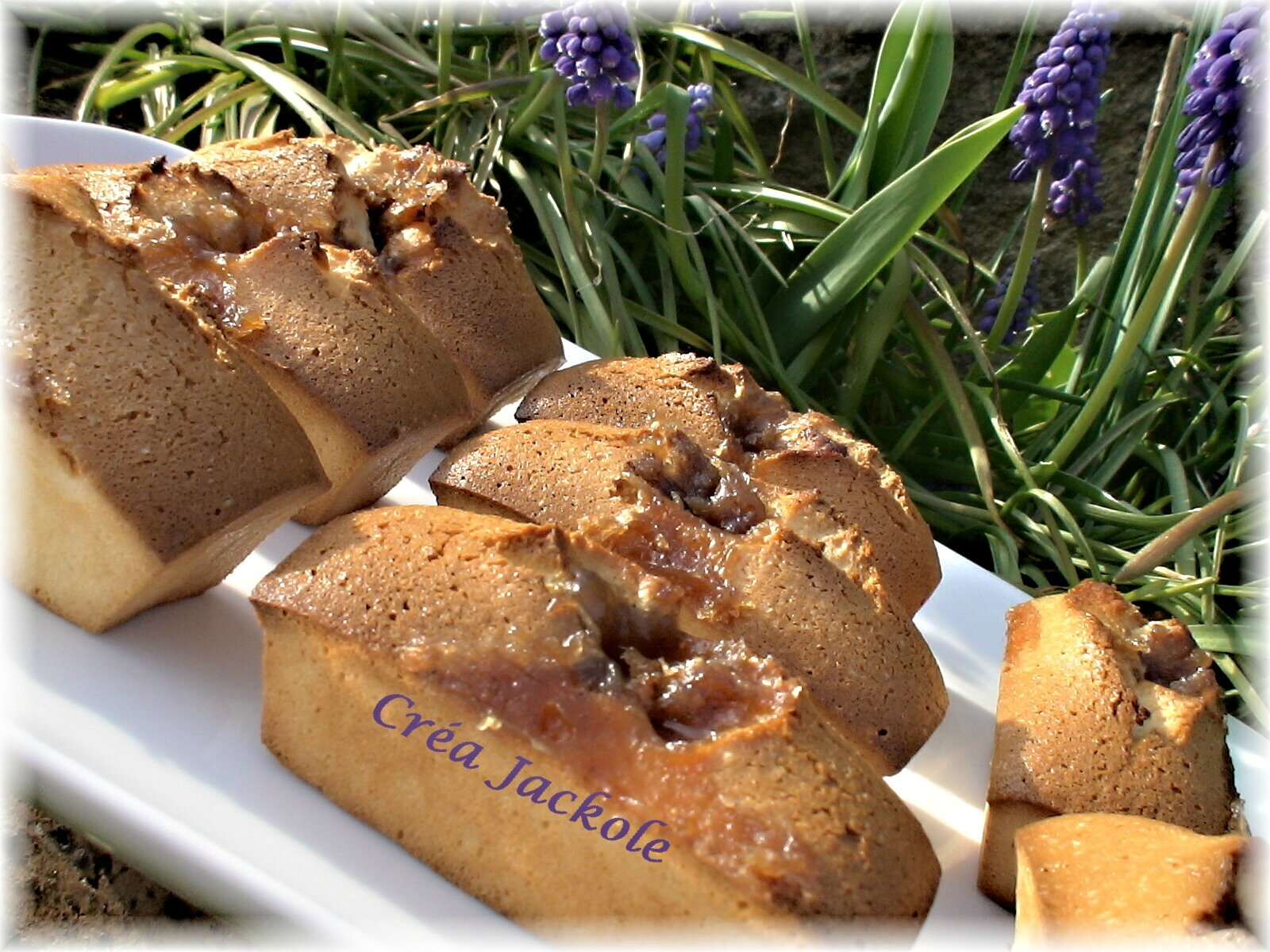 financiers a la creme de marrons