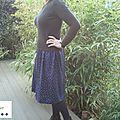 La jupe taille élastiquée ou l'art de rentabiliser un coupon!