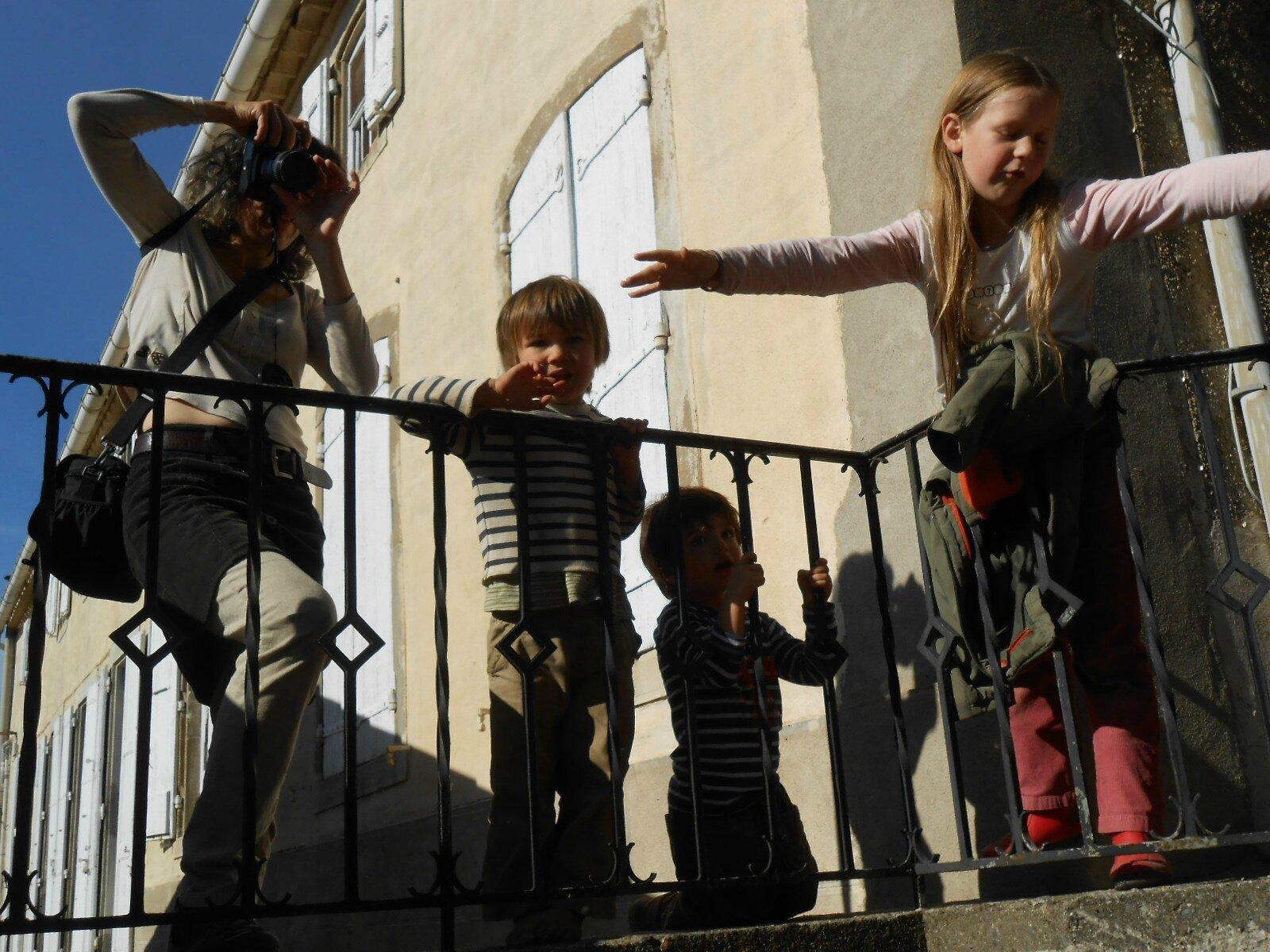 Clo et enfants