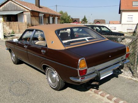 Chrysler 2 litres automatic 1973 1982 31e Randonnee Internationale des Vendanges de Rustenhart 2011 2