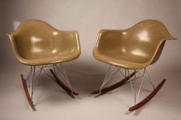 Charles ray eames fauteuils dax lar rar alain r truong for Fauteuil rar eames fibre de verre