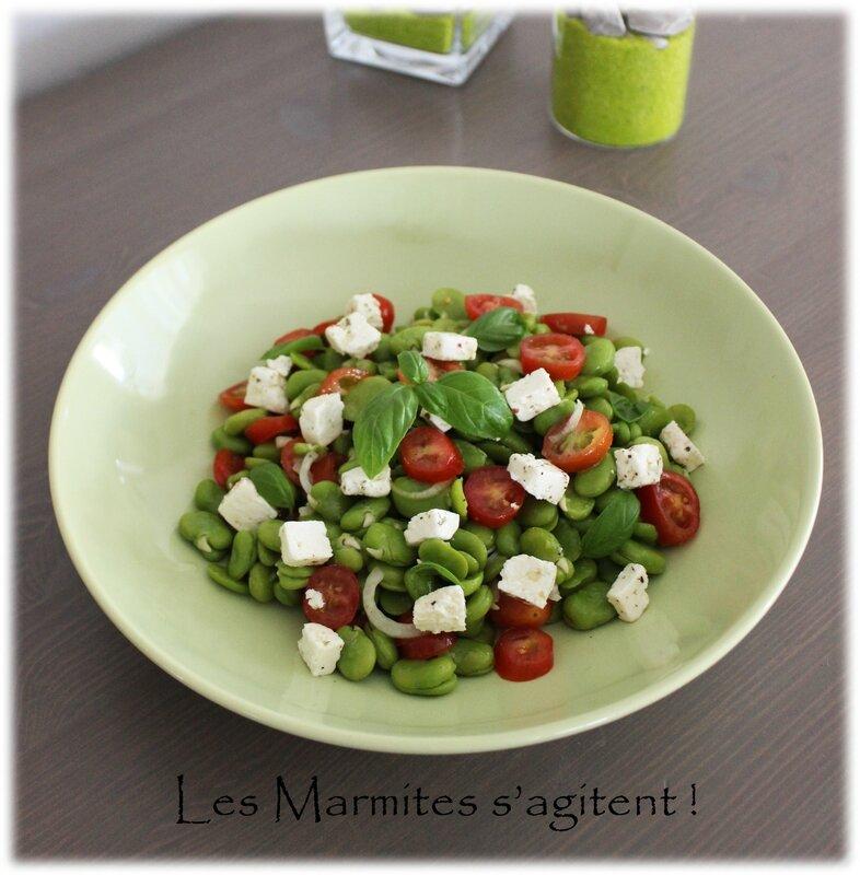 Salade fèves 1