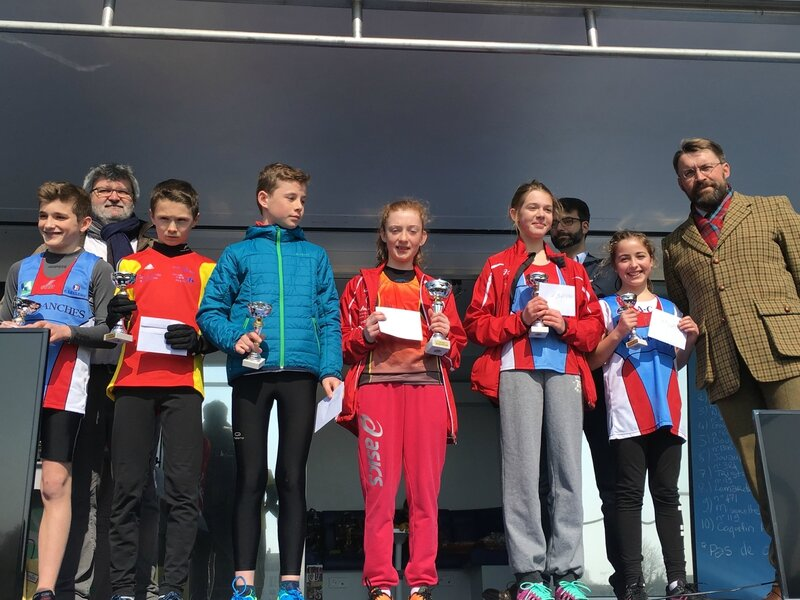 Athletic Club Avranches podium course 2016 jeunes 3