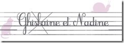 Signatures Nadine