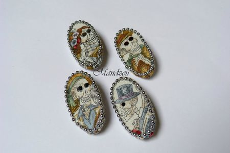 Maracas broche ovales 02