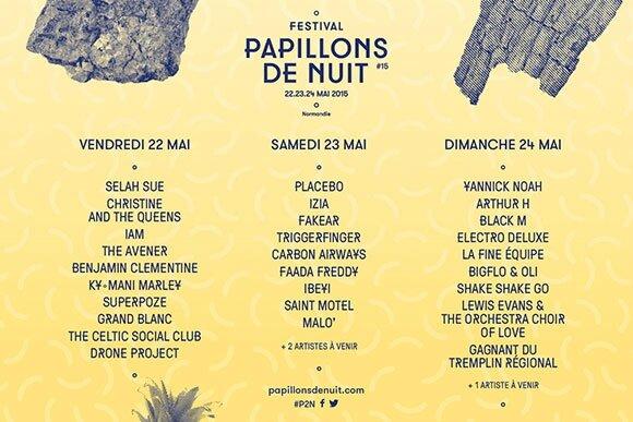 festival Papillons de nuit 2015 programmation