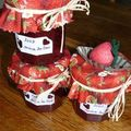 confiture de fraises