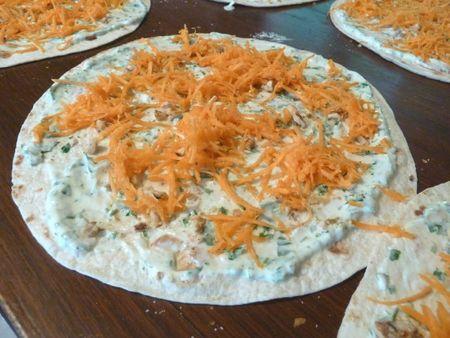 wrap jambon carotte