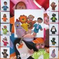 G-collection de mini-marionnettes