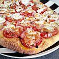 ...pizza estivale...