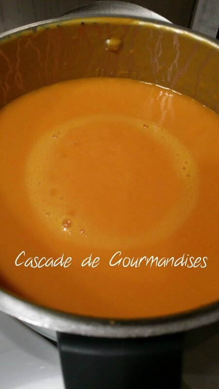 velouté potimarron thermomix