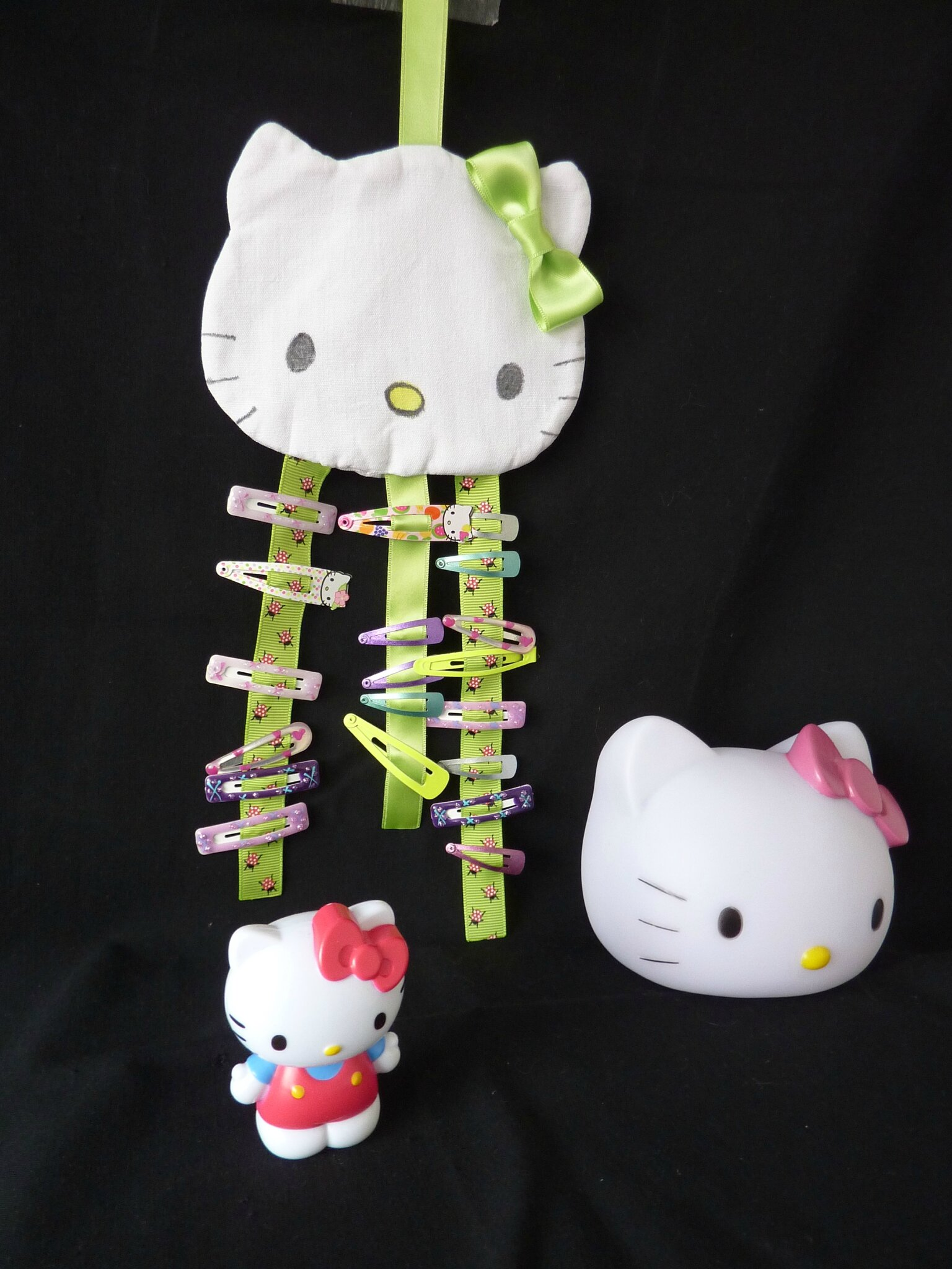 Porte barrette Kitty