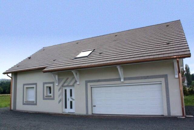 Stunning maison neuve saint di vosges chambres jacuzzi for Calcul prix maison neuve