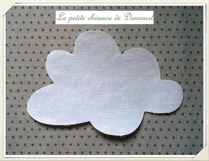 Des petits anges à coller et leur nuage - La petite chineuse de ...
