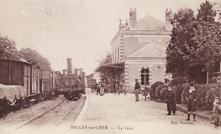 Selles-sur-Cher gare