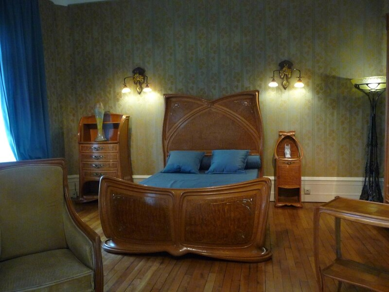 Nancy art nouveau coolitude for Chambre a coucher entiere