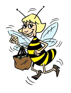 mascotte abeille