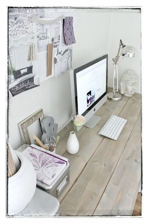 diy mon bureau style industriel c 39 est ma d co co. Black Bedroom Furniture Sets. Home Design Ideas
