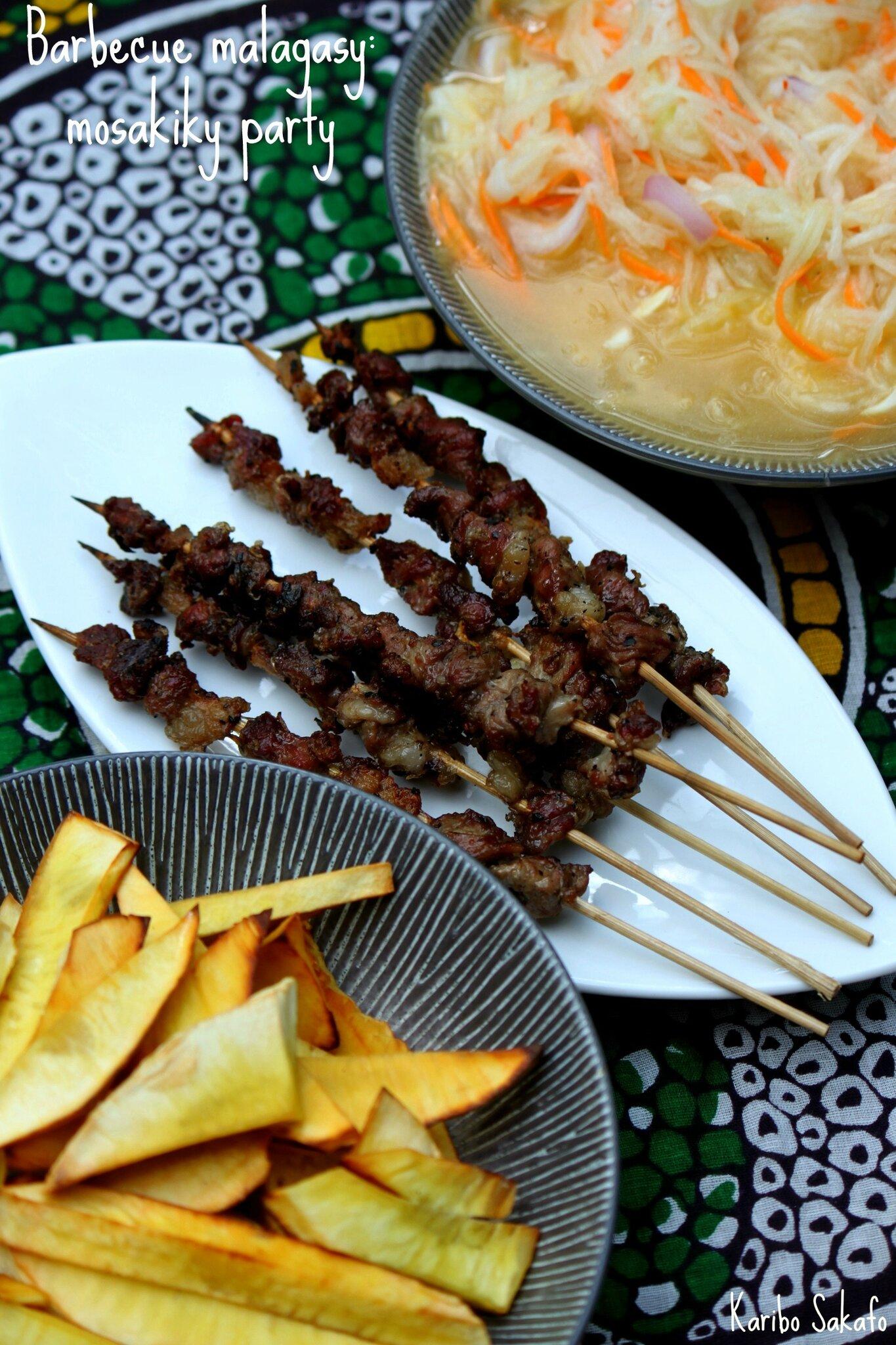 Barbecue malagasy: mosakiky party