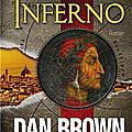 Inferno, thriller de dan brown