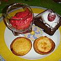 Triologie de desserts