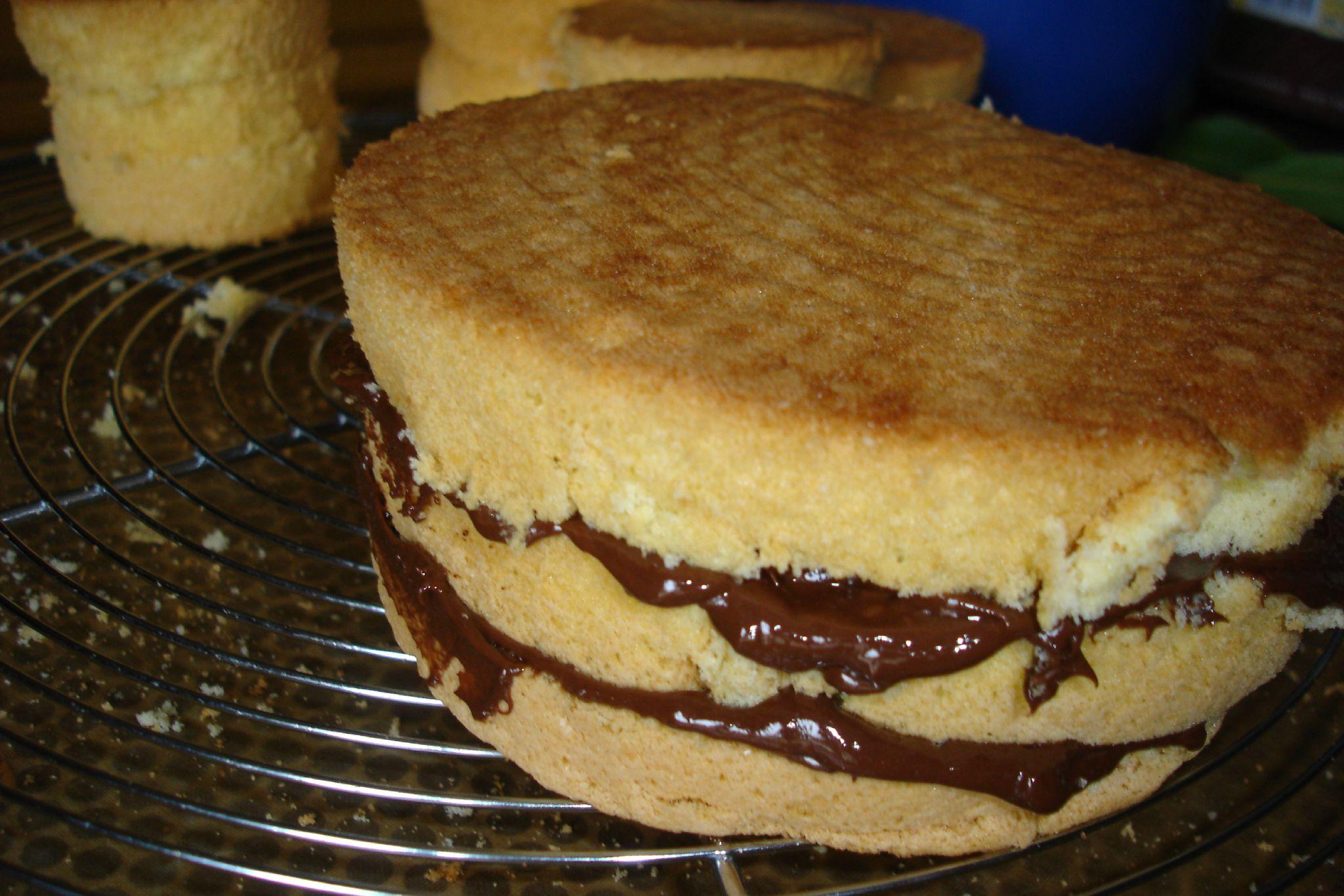 1er essai de wedding cake aux gourmandises de steph