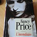 L'incendiaire nancy price