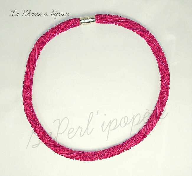 collier spirale rose roc 15 50 cm1
